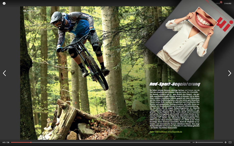 Home bayeride mountainbike downhill enduro team - Ui hauzenberg ...